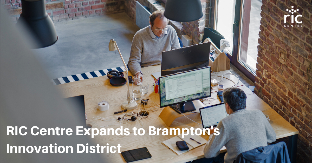 RIC Centre Expands to Brampton's Innovation District