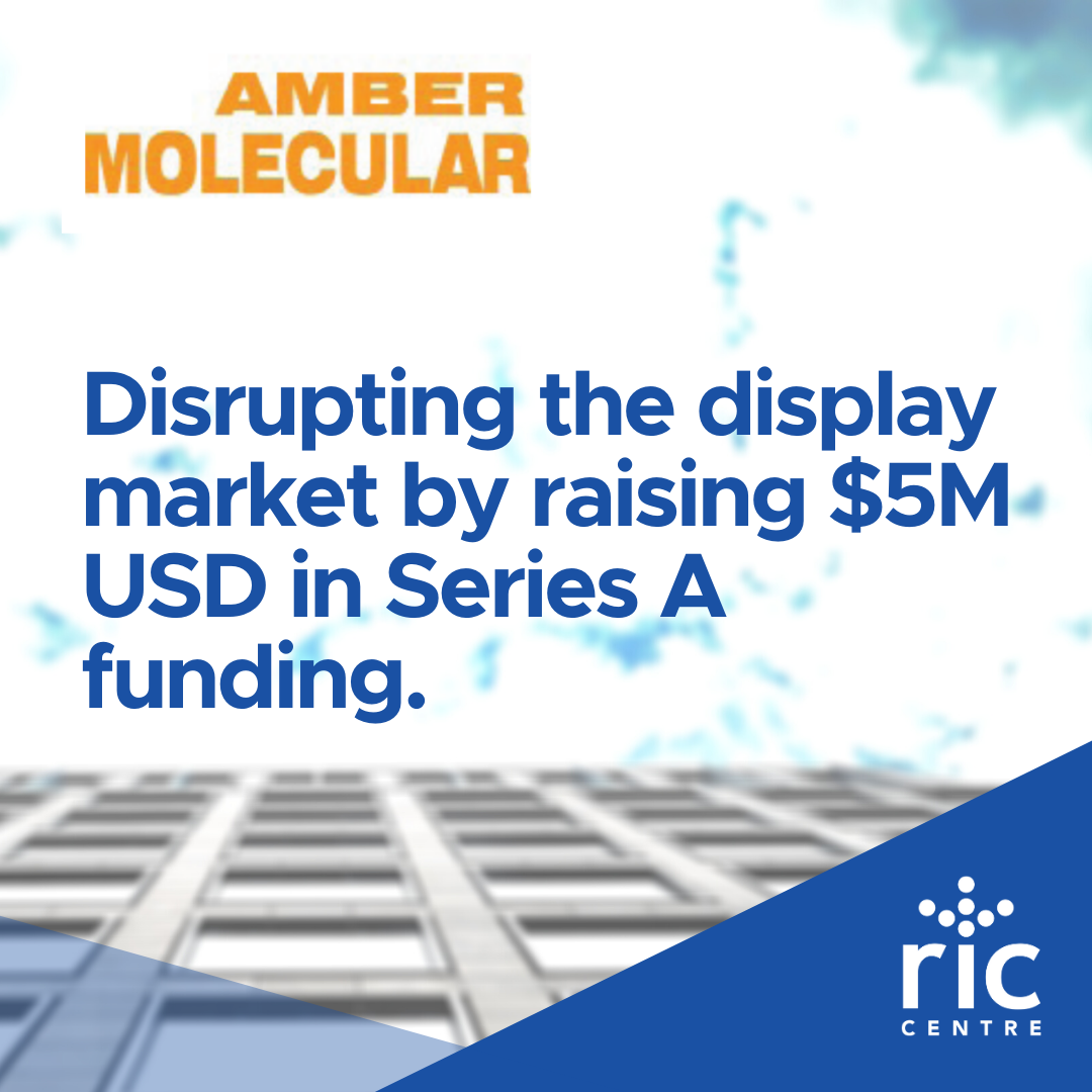 Disrupting the display market by raising $5M USD in Series A funding.
