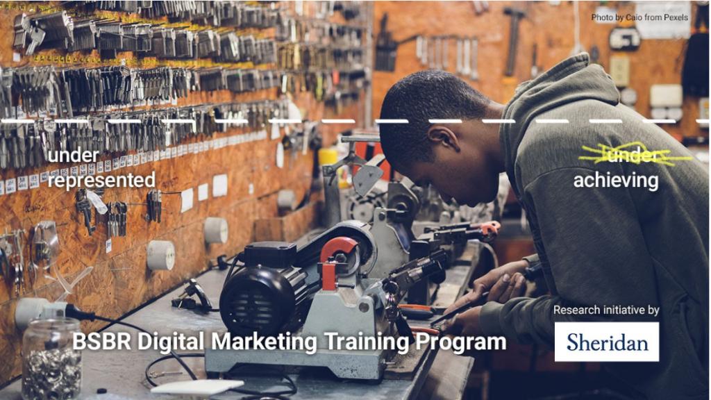 Sheridan digital marketing graphic