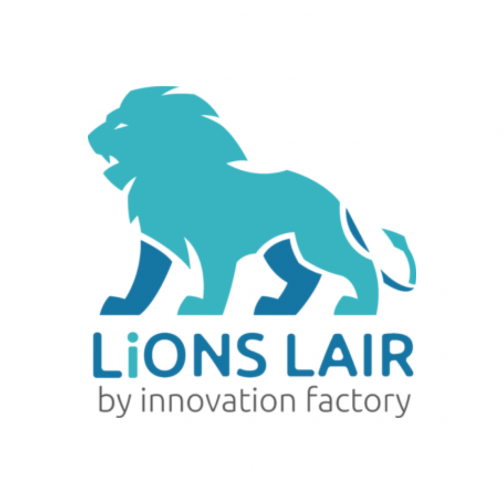 innovation factory lions lair logo