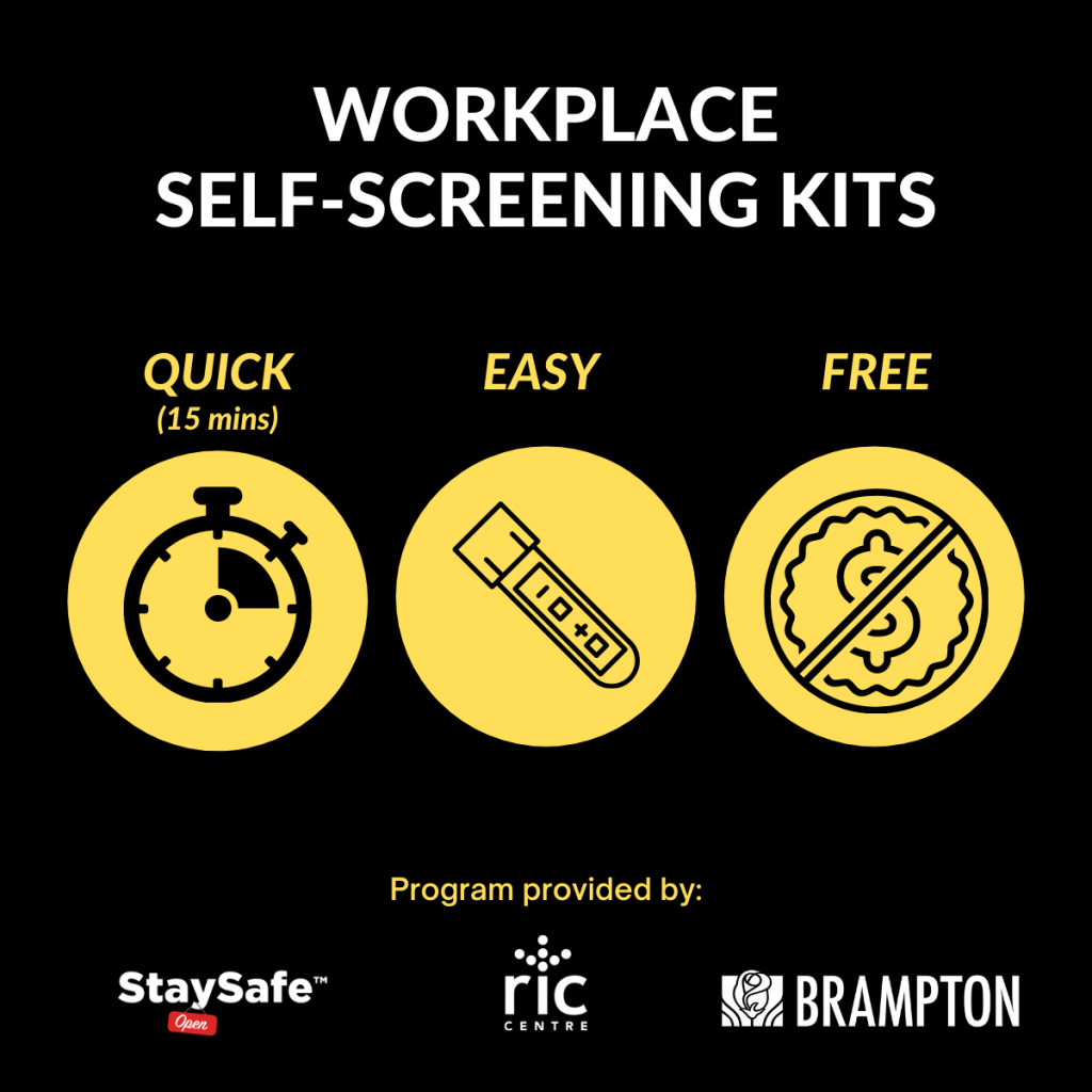City of Brampton StaySafe Initiative Graphic