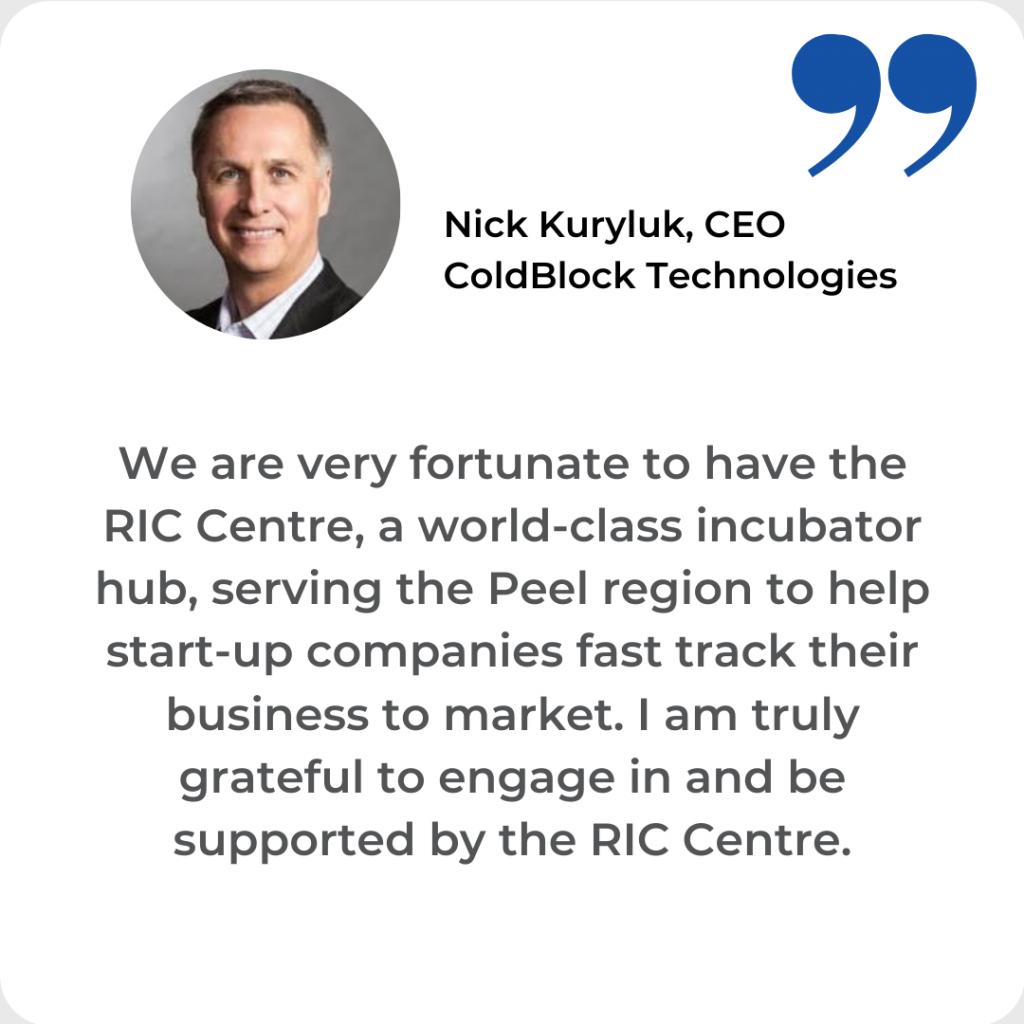 Nick Kuryluk Testimonial ColdBlock Technologies