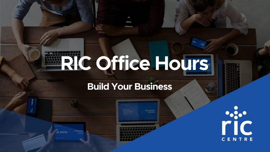 RIC Office Hours Graphic